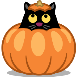 Cat Pumpkin Vector Icons Free Download In Svg Png Format