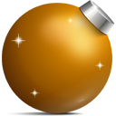 Golden ball Icon
