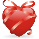 ribbon heart Icon