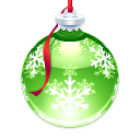 Holly Ornament Icon