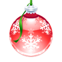 Poinsettia Ornament Icon