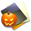 Pumpkin Folder Icon