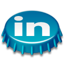 Beer Cap LinkedIn Icon