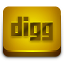Digg Orange 2 Icon