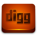 Digg Red 2 Icon