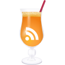 RSS orange cocktail Icon