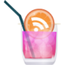 RSS pink cocktail Icon