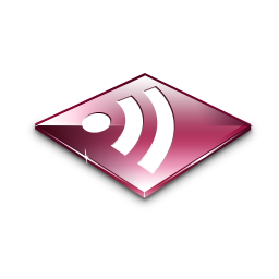 Rss Feeds Pink Icon
