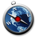 safari blu Icon