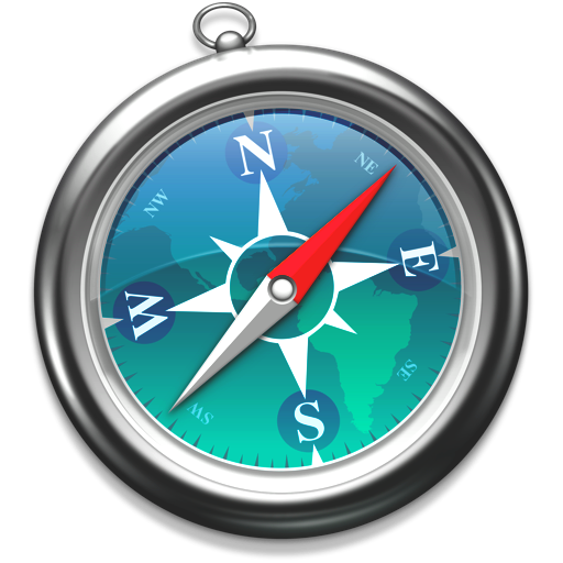 Safari zeeblauw Icon