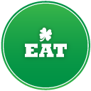 St Patricks Day Eat Vector Icons Free Download In Svg Png Format