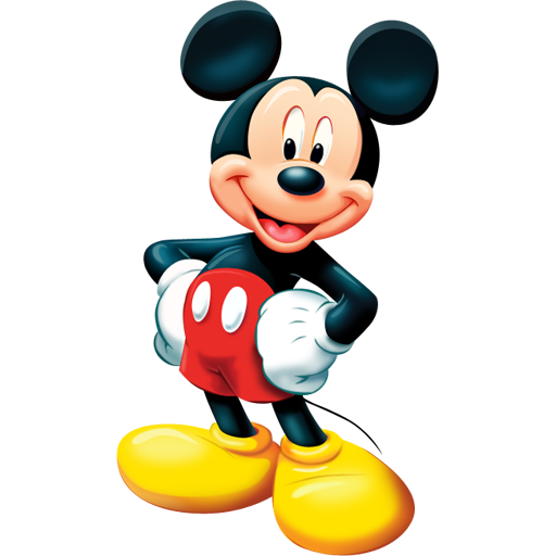mickey mouse icon free download as PNG and ICO formats, VeryIcon.com