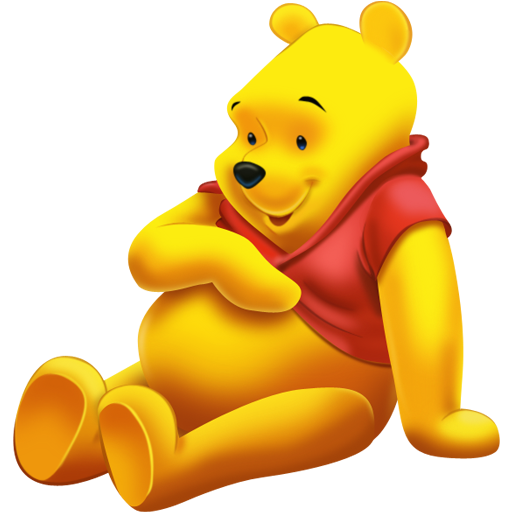 winnie the pooh icon free download as PNG and ICO formats