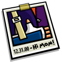 Photo New Years Eve 2 Icon