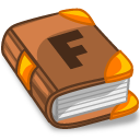 system apps font book Icon