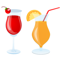 Summer Cocktails Vector Icons Free Download In Svg Png Format