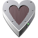 G5 Heart Drive Icon
