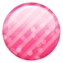 Pink button Icon