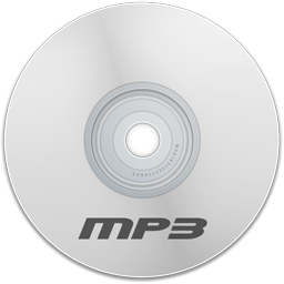 Mp3 White Icon