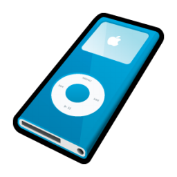 IPod Nano Blue Icon
