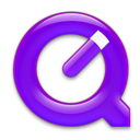QuickTime Purple Icon