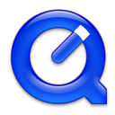 QuickTime Royal Blue Icon