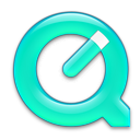 QuickTime Turquoise Icon