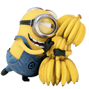 Minion Bananas Icon