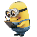 Minion Reading Icon