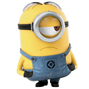 Minion Sad Icon