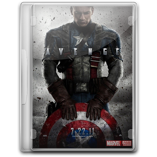 Captain America The First Avenger v6 icon free download as