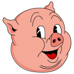 Old porky color icon free download as png and ico formats for Old house tunes