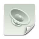 Sound Clipping File Icon