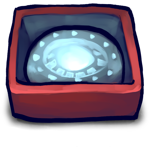 Iron Heart Box Icon