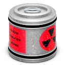 Nuclear Waste Canister Icon