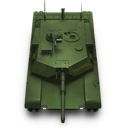 Abrams M1 Battle Tank Icon