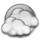 Night Mostly Cloudy Icon