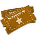 Hollywood Ticket Icon