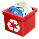 trash red full Icon