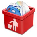 red trash full Icon