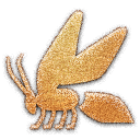 Bee Embossed Icon
