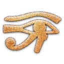 Eye of Horus Embossed Icon