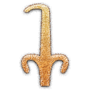 Sedge Embossed Icon