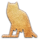 m Owl Embossed Icon
