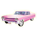 Pink Cadillac Icon