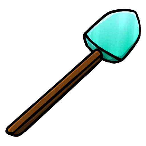 Diamond Shovel icon free download as PNG and ICO formats ...