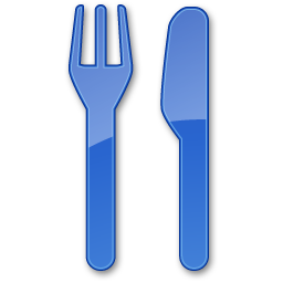 Restaurant Blue 2 Vector Icons Free Download In Svg Png Format