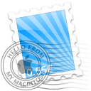 Blue Rays Icon