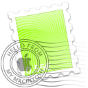 Green Spiral Icon