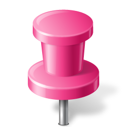 Map Marker Push Pin 2 Pink Vector Icons Free Download In Svg Png Format